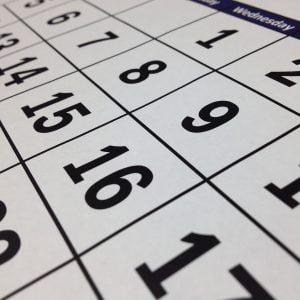Il calendario editoriale