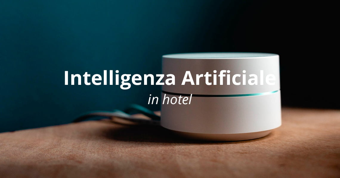 Intelligenza artificiale in hotel: novità e trend
